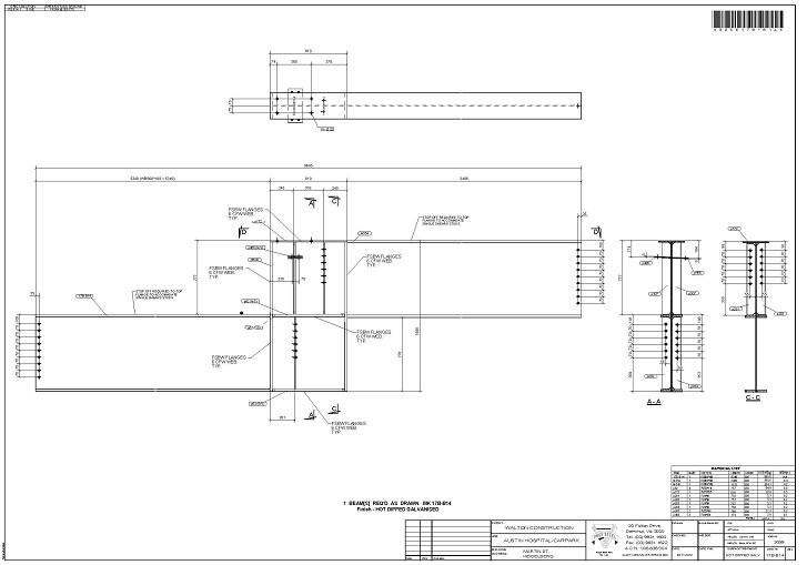Drafting & Detailing - Page Steel Fabrications Pty Ltd
